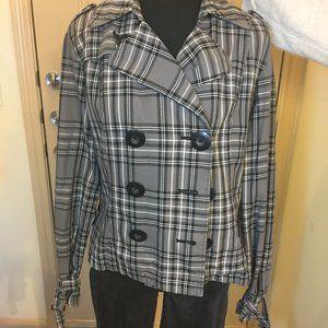 Maurices Plaid Jacket size L